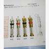 进排气速度快 适用2号芯腔 外弹簧式长型气门芯6000系列气门芯