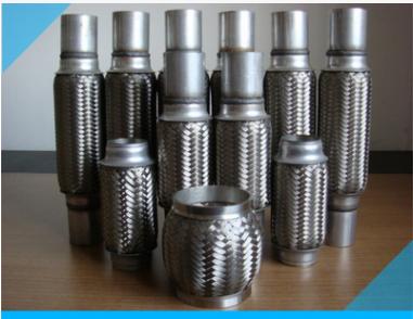 厂家批发汽车排气管不锈钢波纹管,不锈钢软连接软管金属网套管