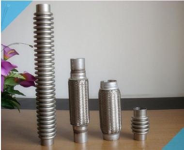 厂家直销汽车软管 防爆管不锈钢波纹管金属波纹管排气螺纹管
