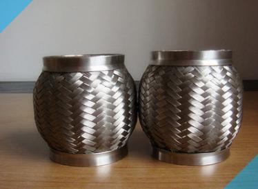 汽车排气管不锈钢软连接金属软管定制-排气挠性管金属穿线软管