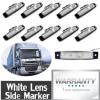 亚马逊热销款高品质6LED卡车灯、卡车边灯、货车边灯 信号灯