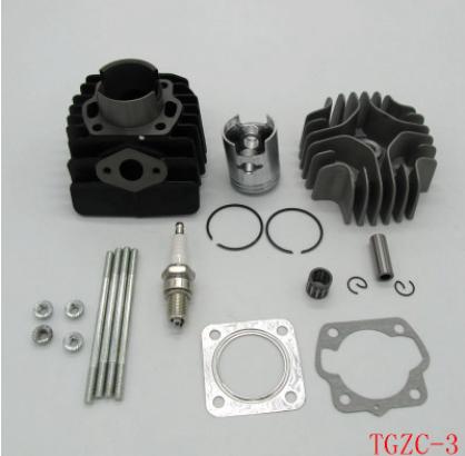 atv沙滩车摩托车发动机配件 汽缸体 活塞环总成 SUZUKI JR LT50