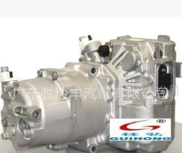 正品三电奔驰S400混合动力车空调电动压缩机汽车电动制冷压缩机