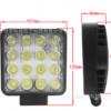 跨境货源 48W方形LED woking light 高亮聚光/泛光 越野改装车