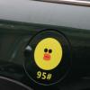 通用迷你油箱盖贴纸卡通可爱汽车装饰贴可妮兔布朗熊本熊莎莉鸡贴