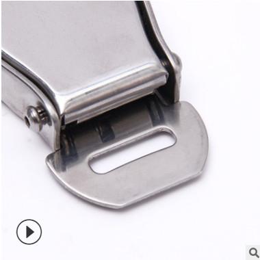 厂家直销新款45号钢飞机扣汽车安全带配件安全带扣汽