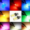 新款 硅胶LED T10 LED灯丝灯 恒流 无极 解码 汽车示宽灯 牌照灯