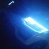 免拆大灯改装汽车外置双色日行灯超薄LED泪眼灯导光条跑马转向灯