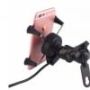 摩托车手机支架带USB充电功能 住友60302981连接器手机充电器