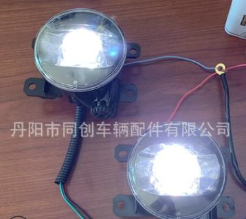 适用新款17哈弗H6H7H9广汽GA6前保险杠灯LED透镜防雾灯总成恶魔眼