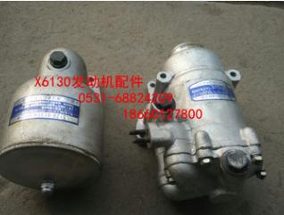 杭州杭发杭柴X6130发动机机油滤芯 机油转子滤清器 机滤器配件