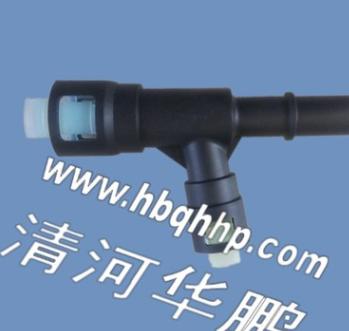 美国通用汽车辅助散热器进气管三通PVC快速接头15055342