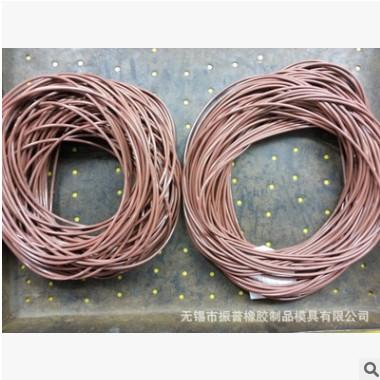 厂家供应各种颜色氟橡胶 耐高温 o型圈 橡胶密封圈 现货