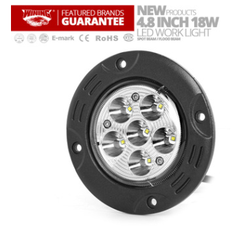 新款18W嵌入式工作灯LED圆形工作灯【4 INCH LED work light】