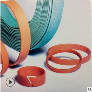 进口CR FR WR酚醛夹布导向带 酚醛树脂支撑环 耐磨带 四氟青铜带