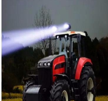 4x6 inchs 45W LED 大灯H4 LED工作灯工程车灯 越野车灯 汽车车灯