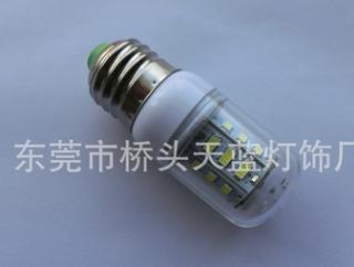 厂家直销 LED玉米灯泡 12-80V机床灯泡E27船舶玉米灯5W太阳能灯泡