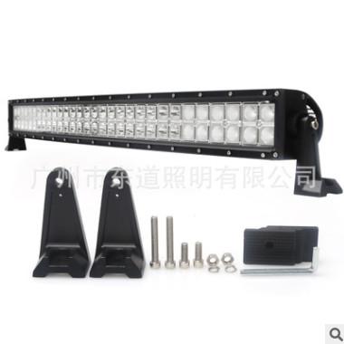 双排弯灯180W高亮科瑞LED长条灯弧形越野车顶灯汽车改装照明射灯