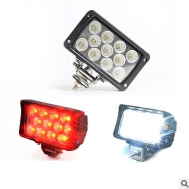 LED双色倒车灯吉普牧马人吉姆尼33w高位倒车灯白光 刹车红光