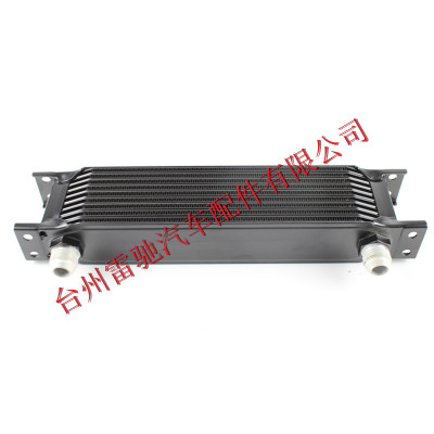 厂家直销 改装机油冷却散热器 10层 英式油冷器 Radiator
