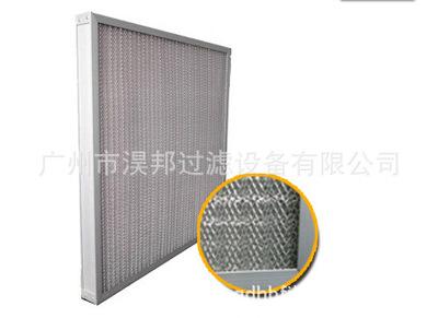 全金属空气过滤器(全铝质空调过滤网)耐酸碱金属过滤网