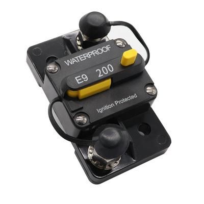 电池手动复位品质断路器 200A大电流 过流保护器