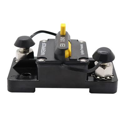 150A手动复位带切换开关过流过载保护器汽车断路器