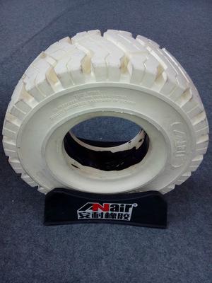 18*7-8白色绿色环保实心轮胎