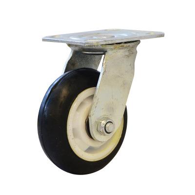 【真牛牌】5寸静音轮 平板车转向轮 货仓车脚轮 批发