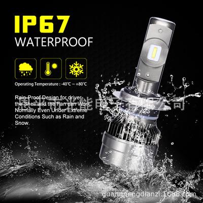 LED车灯新款 汽车led大灯泡 Car Headlight H1 H7 9005/HB3
