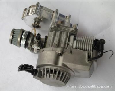 利亚发动机 49CC 两冲小跑车汽油机带空滤器化油器整套批发