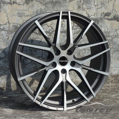适用奔驰S级 奥迪A6 帕萨特 大众CC汽车改装旋压轮毂