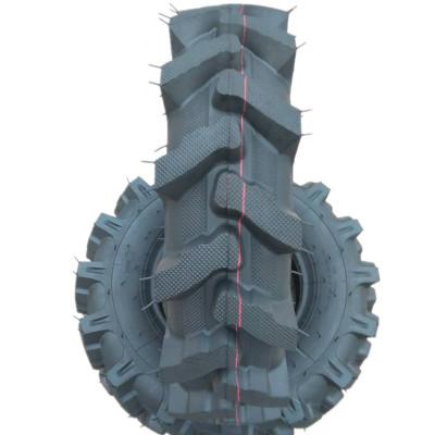直供精品6.00/600-12人字抓地虎耐磨三轮车微拱机轮胎加强型