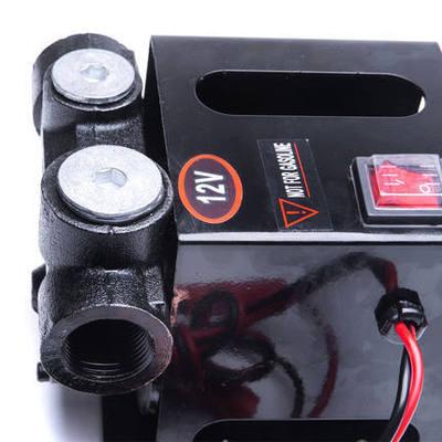 厂家直销12V 电动加油泵 大流量直流泵 70L柴油泵12V 自吸泵