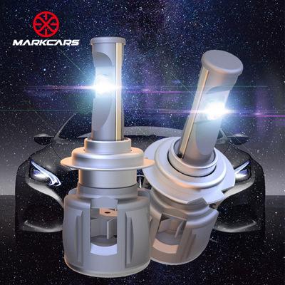 迈客仕X70 高亮LED前大灯跨境汽车改装灯泡汽车灯led车灯h7h11h4