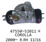刹车分泵47550-52011* COROLLA 200- R.RH 11/16