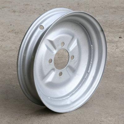 厂家供应三轮车4.00-12轮毂 拖车轮毂钢圈 真空胎铝合金轮毂