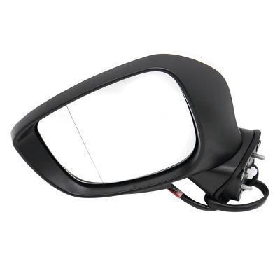 厂家供应CX4马自达16款CX-4后视镜倒车镜反光镜总成镜片镜灯后盖