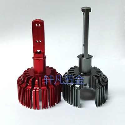 高品质供应汽车大灯铝件 H3汽车大灯铝件 大灯铝件加工、定制