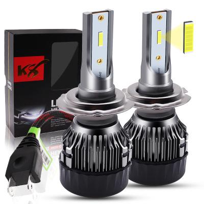 So.k K8LED灯 跨境专供 厂家直销 k8汽车改装LED大灯H4HH11灯泡