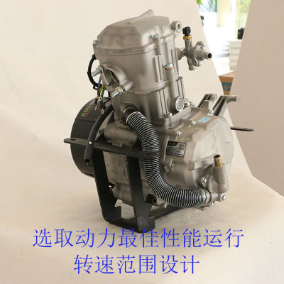 田河牌水冷增程器6KW大功率电动汽车带暖风增程器厂家直销60V/72V