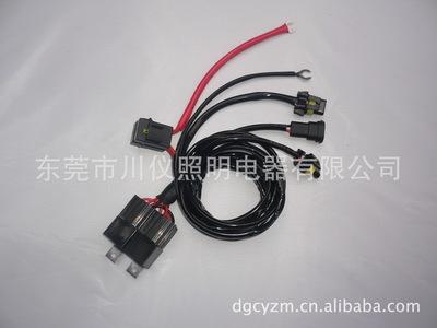 汽车H11单氙气灯双保险线束 HID/LED线束