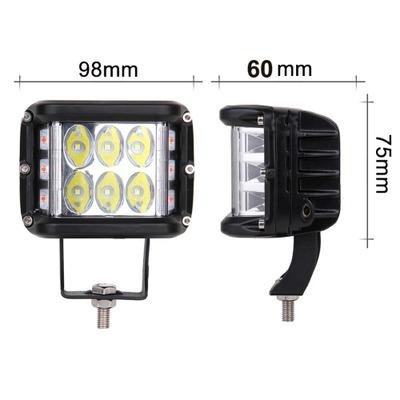 48w 12LED三面发光LED汽车工作灯48W爆闪越野车射灯侧边爆闪灯
