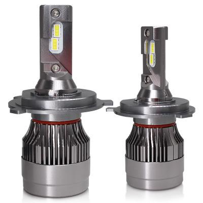 跨境新款 gt8 c6 led汽车大灯 h4大功率 解码led汽车改装厂家直销
