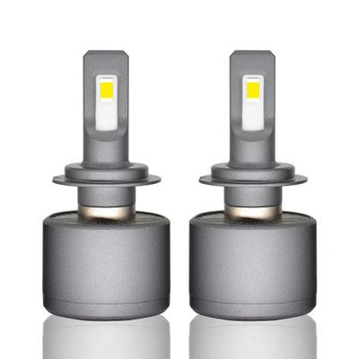 厂家新款汽车led大灯 V40 强聚光超高亮改装远近光前照灯led车灯