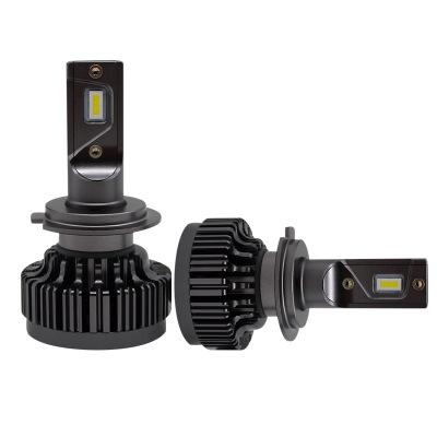 生产厂家批发V7汽车led大灯CSP远近光灯泡H7车灯改装跨境亚马逊