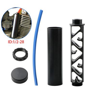 汽车通用改装燃油滤清器 24003 1/2-28 5/8-24 10英寸机油滤清器