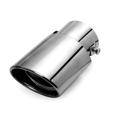 通用汽车尾喉排气管 不锈钢银色直款消声器