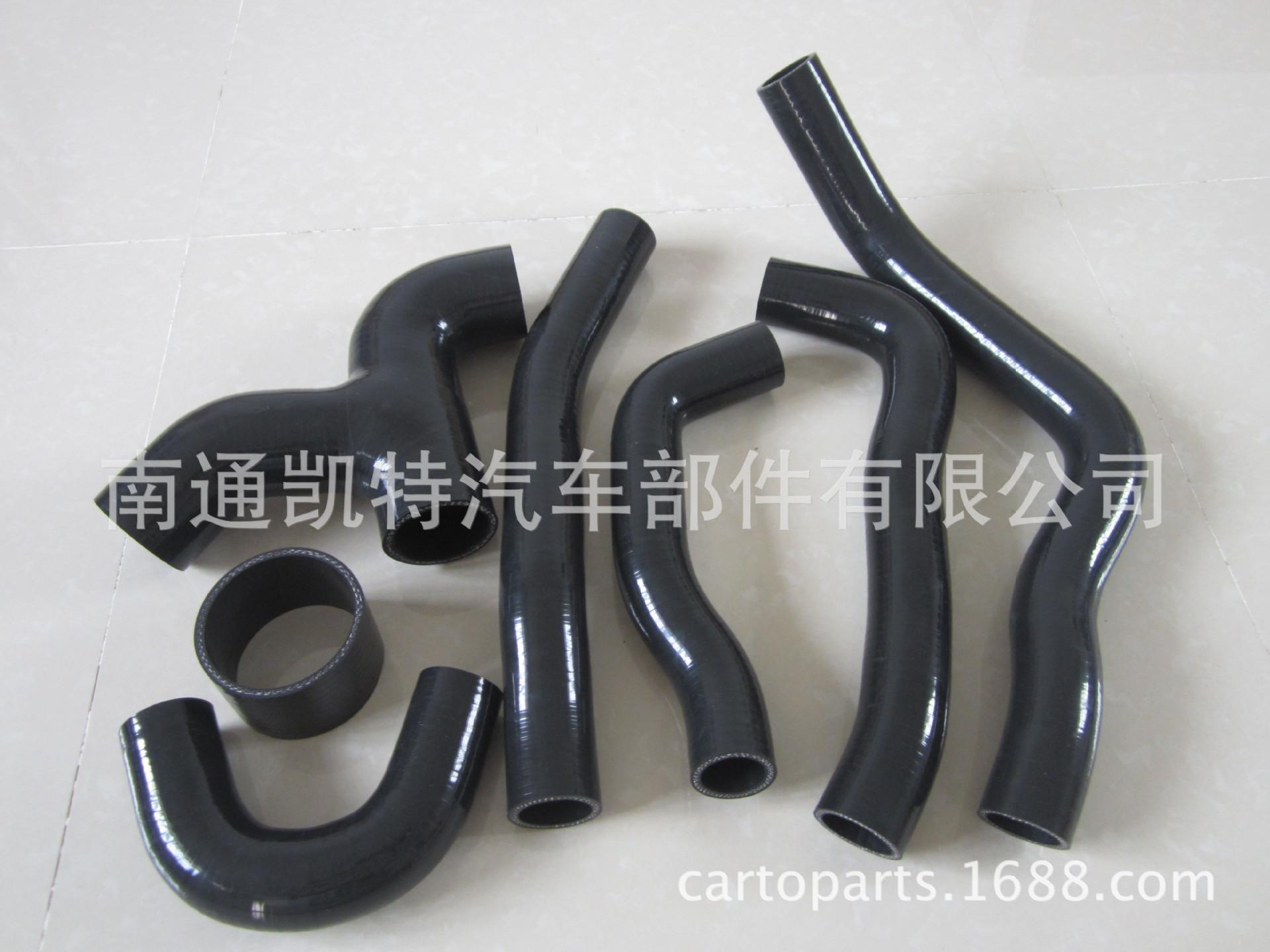 供应涡轮增压管 汽车硅橡胶管 耐高温增压管橡胶管水管