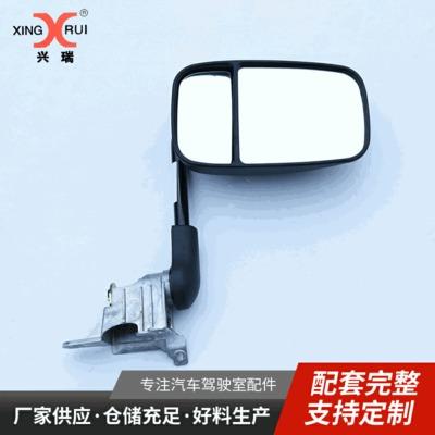 重汽配件成都大运1735后视镜及支杆总成反光镜倒车镜一体